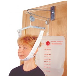 Heavy-duty head halter comes complete with metal support and self-attaching closuresComplete with 12..