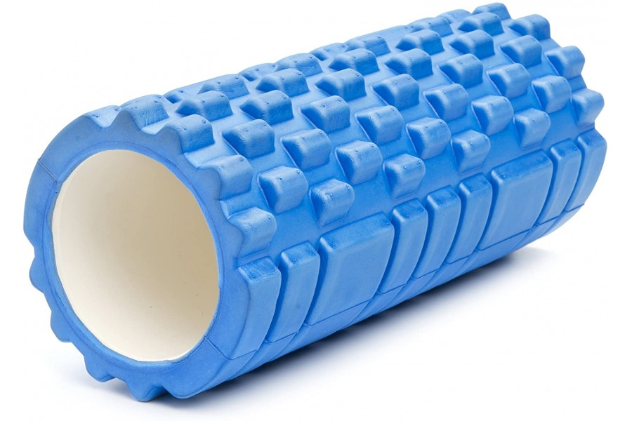 Anti-slip, non toxic material. high density molded EVA foamRelaxes contracted muscles.Improves flexi..