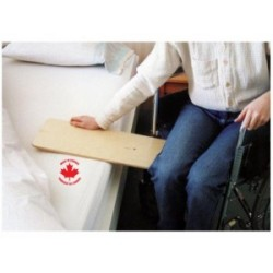 Useful for transferring from wheelchair to bed, car seat, bath board etc. Made of multi-laminated bi..