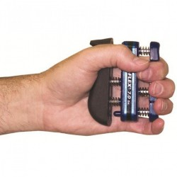 Flexion for each individual finger as well as the entire hand! Develops isolated finger strength, fl..