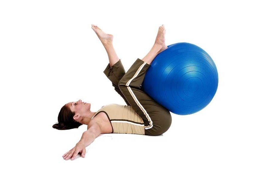 TheYoga Exercise Ballis suitable for a wide array of a active exercises and helps improv..