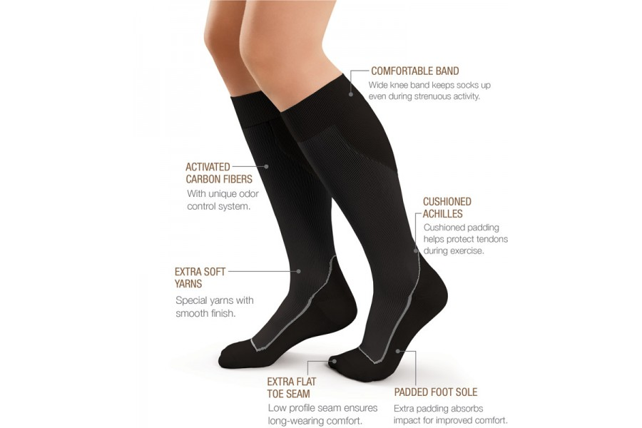 JOBST Sport is specifically designed for men and women who want a long-wearing closed toe sock that ..
