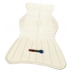 TheAquaSense Bath Mat has a built in temperature indicator that will show if the water is too ..
