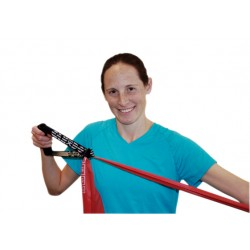 Band and tubing accessories can be used to enhance a resistance exercise band and tubing workout. Ha..