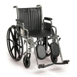 A quality wheelchair with options offering the flexibility