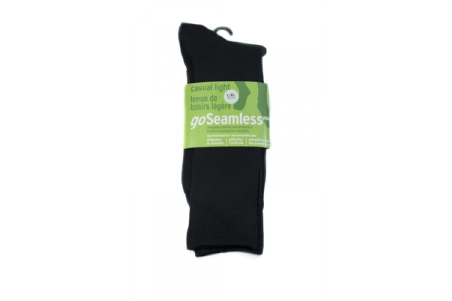 No inside seam, no irritating ridgesNon-binding foot and calf comfortConstructed to provide extra cu..