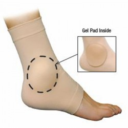 Use – For protective cushioning around ankle bones, relief of pressure build-up during high-imp..