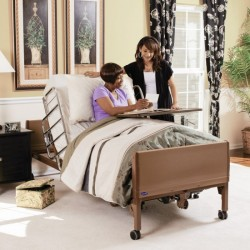 The Invacare® Full-Electric Bed offers the greatest convenience for the patient and caregiver. The e..