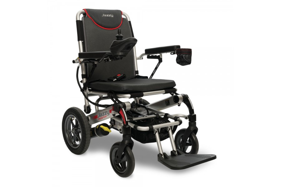 Simply fold and travel with the Jazzy® Passport. This compact power chair folds in just a few steps ..