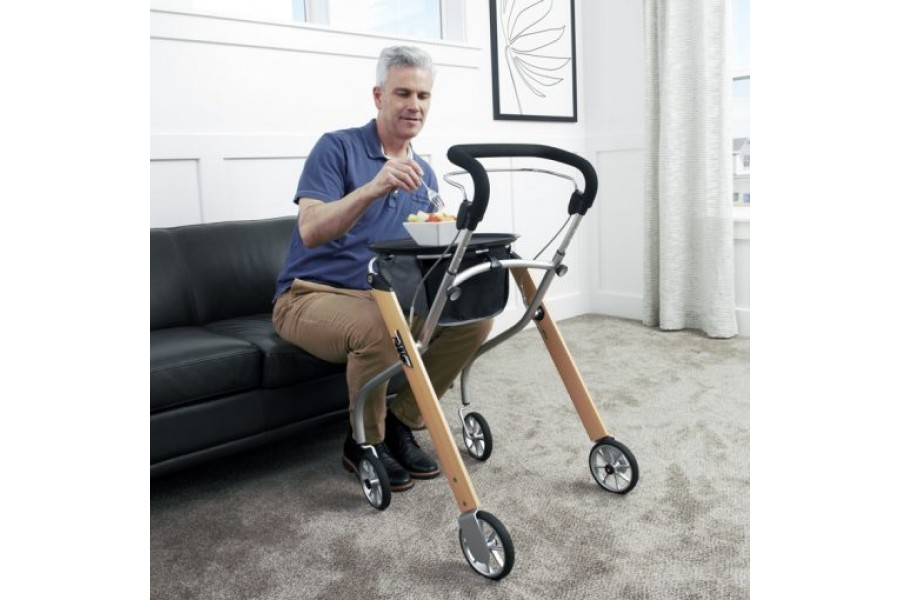 COMPACT: Maneuver through narrow passageways and tight spacesFOLDABLE: Lightweight frame easily fold..