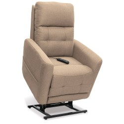 Stretch out fully and embrace the comfort of the Perfecta Lift Chair Collection by VivaLift!® Power ..