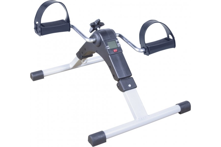 Drive Medical's digital exercise peddler is ideal for leg and arm muscle exercising . It has the fol..