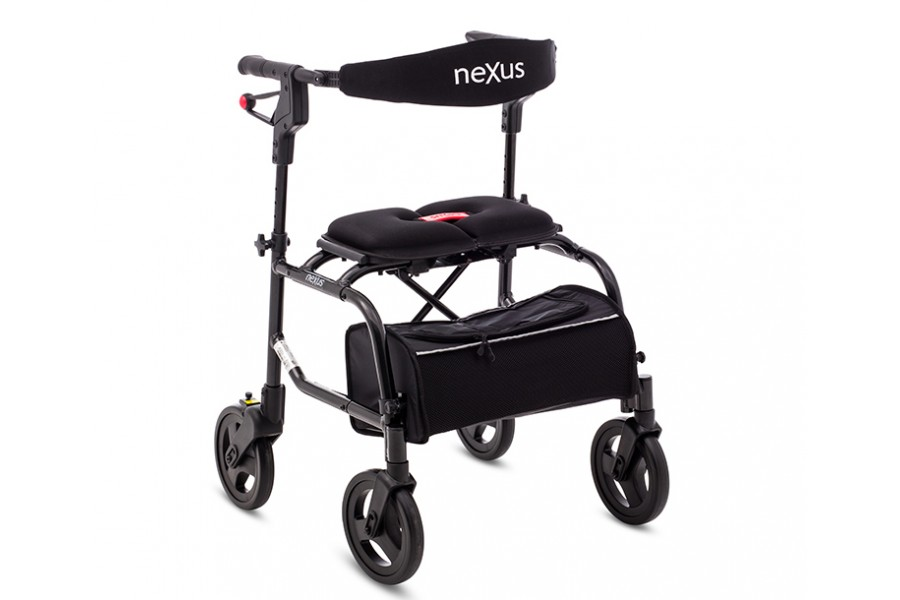 The neXus 3walking aid is the next level in mobility. With a cable-free braking system, the ne..