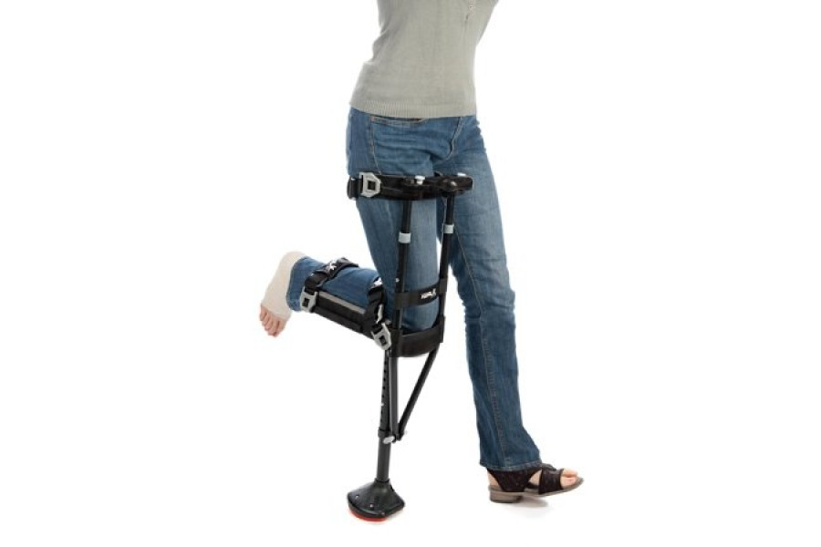 The iWALK2.0 is the best solution for non-weight bearing lower leg injuries. iWALK2.0 is easy to lea..