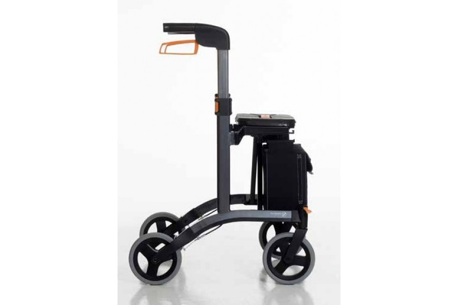 The rollator has been designed by leading industrial designers and is available in three different c..