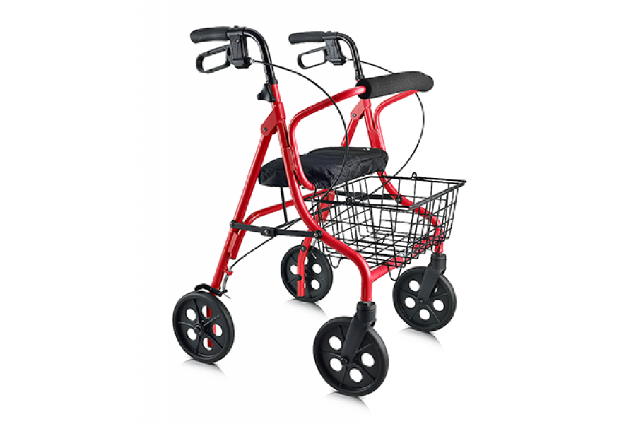 "Economical light weight walker6"" wheel models ideal for indoor use now with wider 40mm wheels8"" whee.."