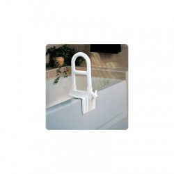 Grab Bar Safety Rail was designed to fit just about any style of bathtub. The attractive white..