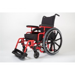 The NRG+ GOLD is an aluminum lightweight manual wheelchair designed to achieve a 12