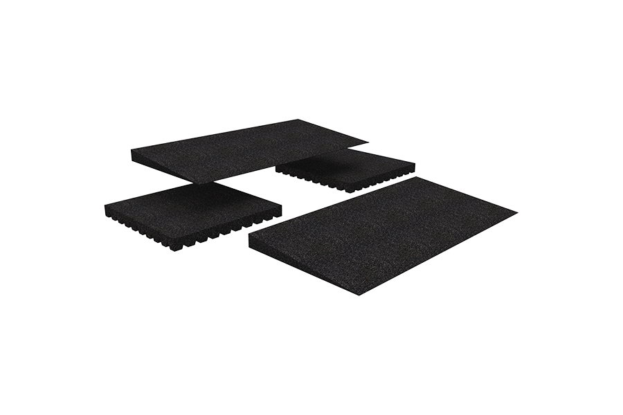 Designed for doorways and raised landings, the TRANSITIONS® Modular Entry Mat can be used by itself ..
