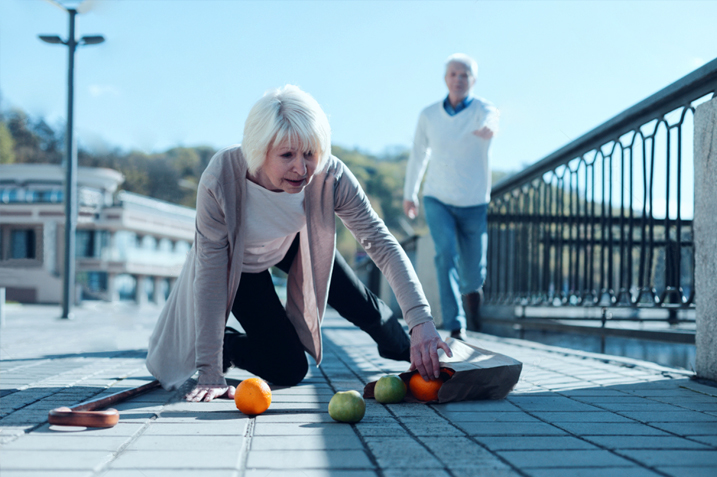 Fall prevention in old ages