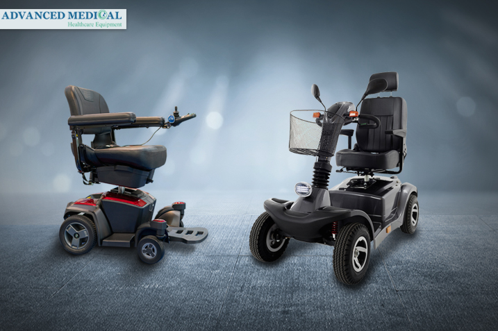 Best scooters and power wheelchairs at Advanced Medical